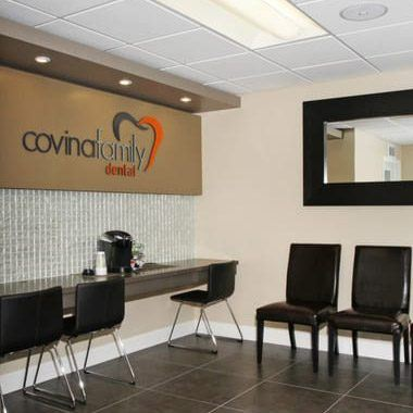 Covina Family Dental waiting room