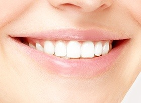 Restorative Dentistry Covina: Closeup of perfect smile