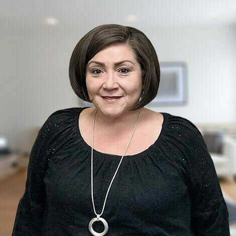 Headshot of office manager Vickie